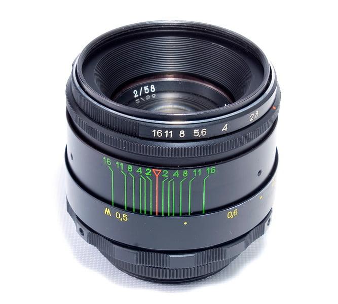 Helios 44-2 58mm f/2 Lens for Sony E (E-mount